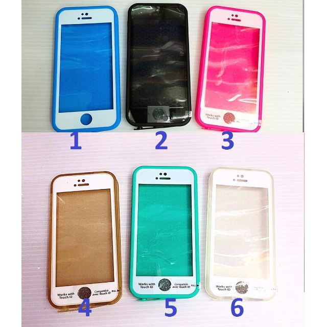 High Quality Waterproof Mobile Phone Case for Iphone 5, 5s, Se, 6, 6s, 6+, 6s+, 7, 7+  _AB15
