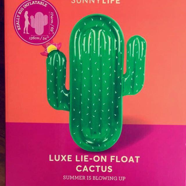 Huge Cactus Pool Float
