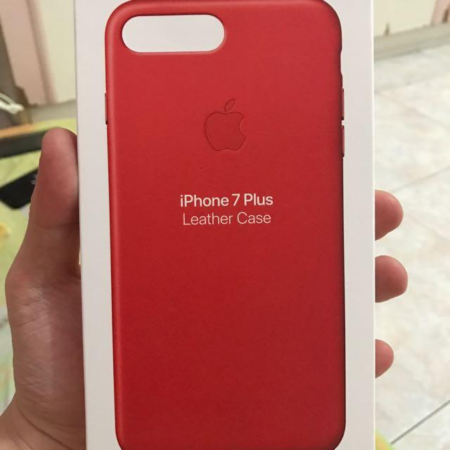 quality design ef3bf 27256 Original Iphone 7 Plus Leather Case Apple Store