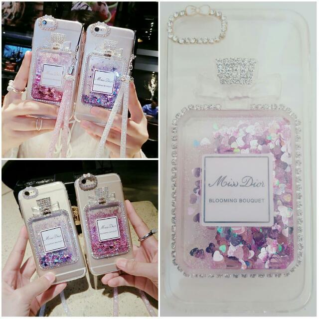 Iphone 7 plus PRE ORDER perfume bling case