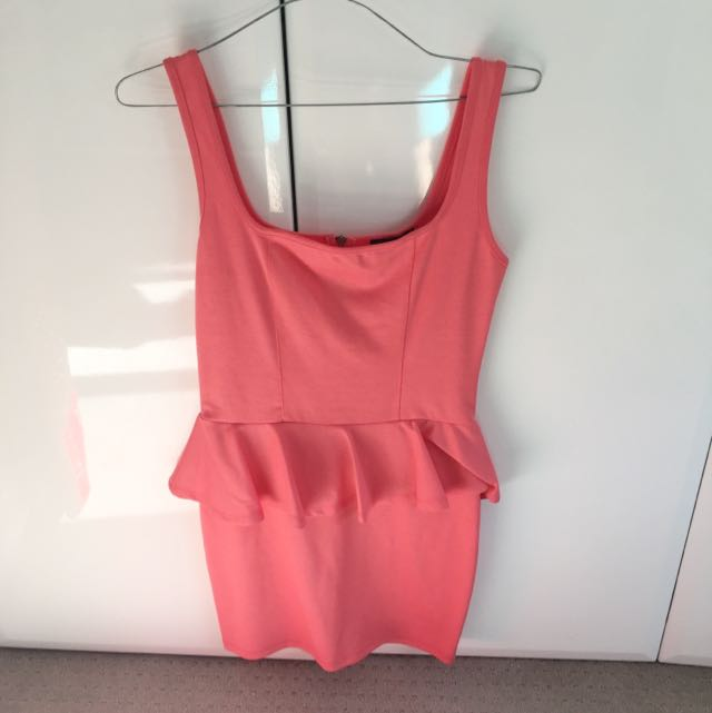 Light Pink Size S dress With Frill