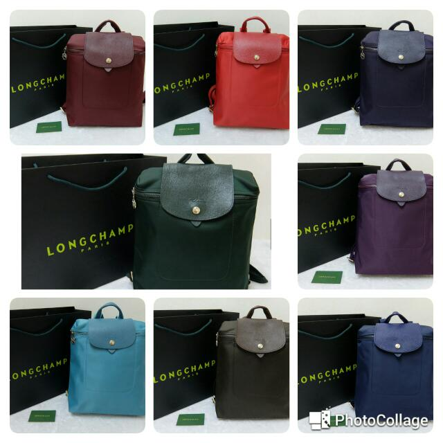 Longchamp Backpack 100% Authentic