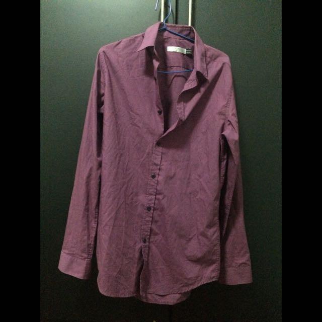 Magenta Topman Shirt