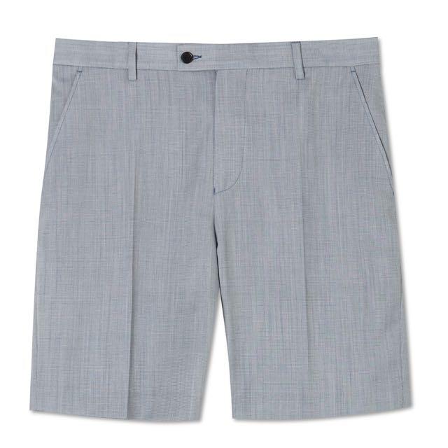MARCS Grey Textured Tailored Short (34)