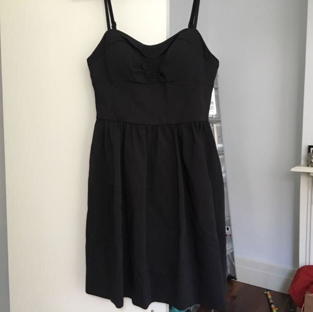 Marc's Size 10 Black Dress