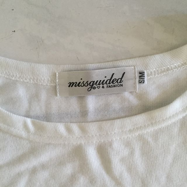 Missguided Batwing 3/4 Sleeve Top