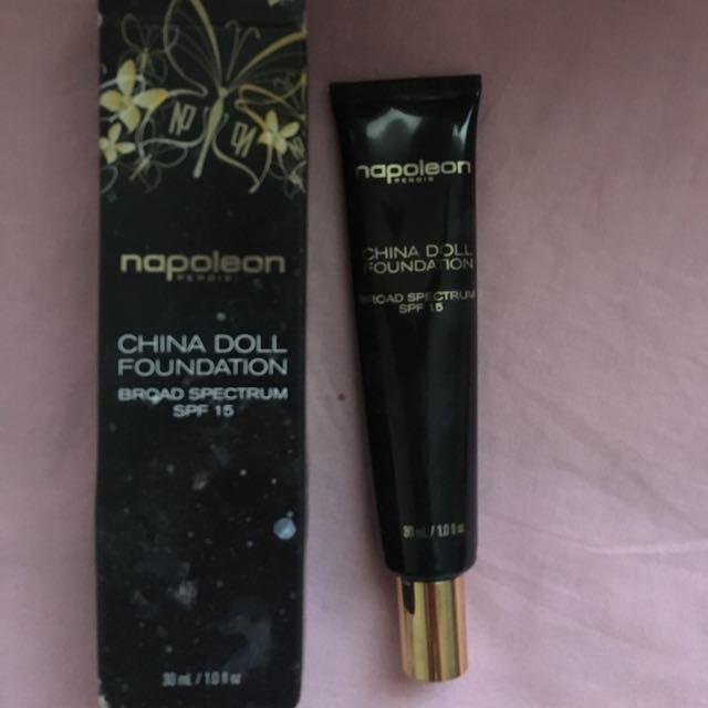 Napoleon Perdis China Doll Foundation Look 4