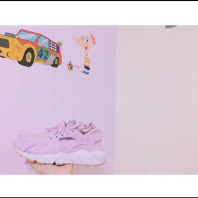 Nike huarache Air 武士鞋 粉紫色✌🏼降價