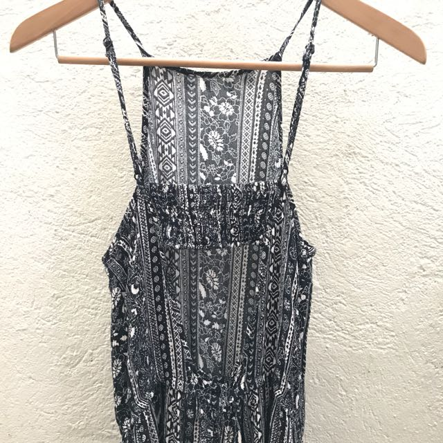 53ef18a441e NWOT American Eagle Outfitters Bohemian Halter Romper