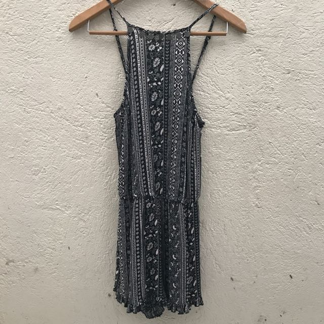 NWOT American Eagle Outfitters Bohemian Halter Romper