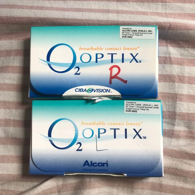 Optix Contact Lenses