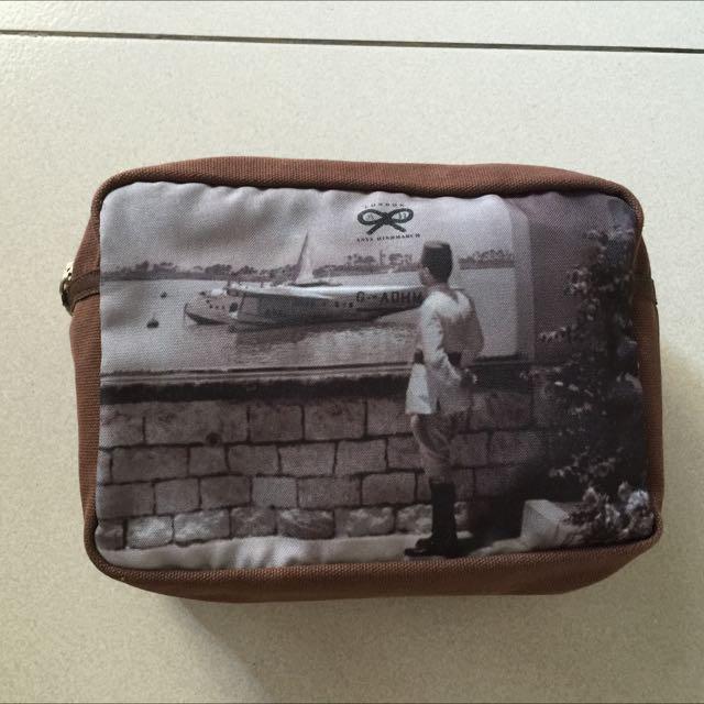 Original Clutch Bag/Make Up Bag By Anya Hindmarch