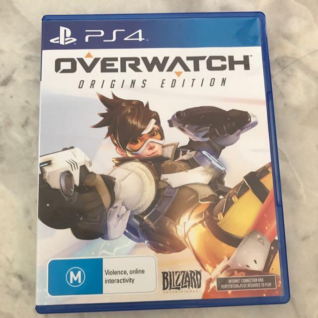 Overwatch Origins Edition PS4