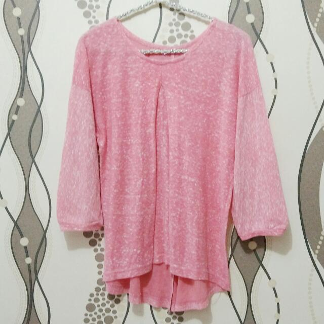 Pink Soft Blouse