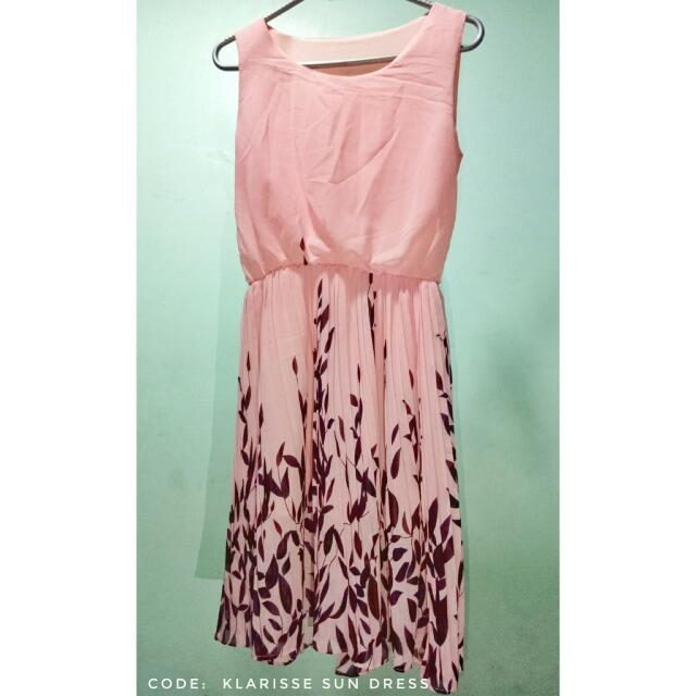 Pink Sundress