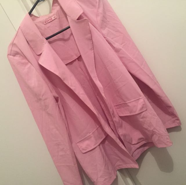 Pink SUPRÉ Long Coat