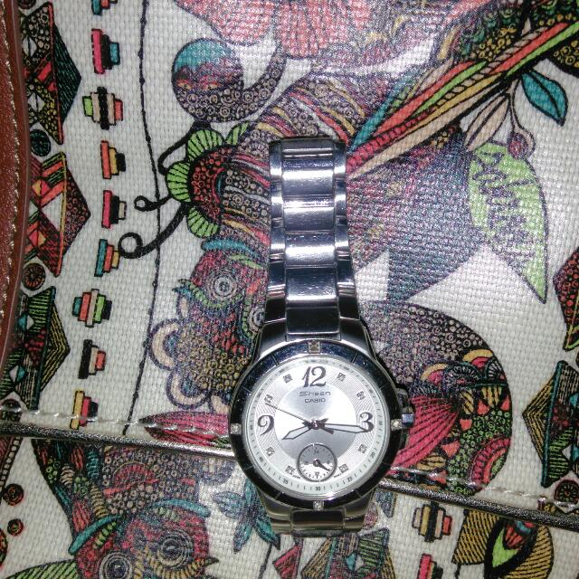 Preloved Sheen Casio Watch