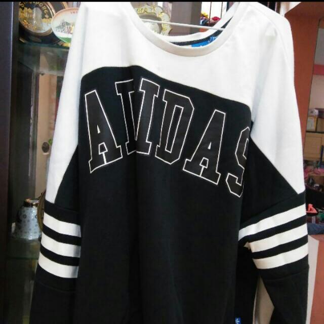 REPRICE!!! Unisex Adidas Originals Oversized Sweat Shirt