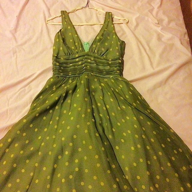 Review Women's Silk Dress Size 8