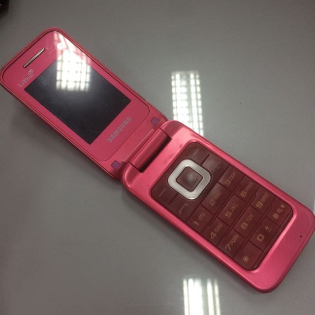 Samsung Flip Limited Edition Pink