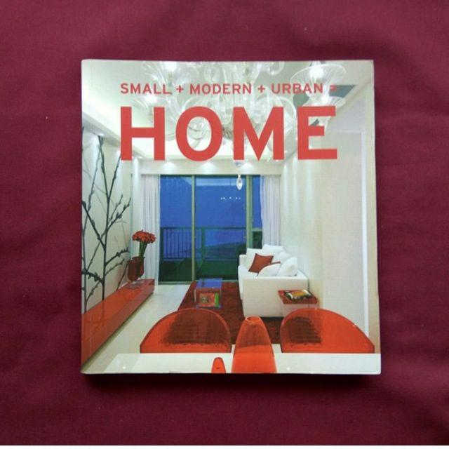 Small Modern Urban Home Interior Design Decor Book