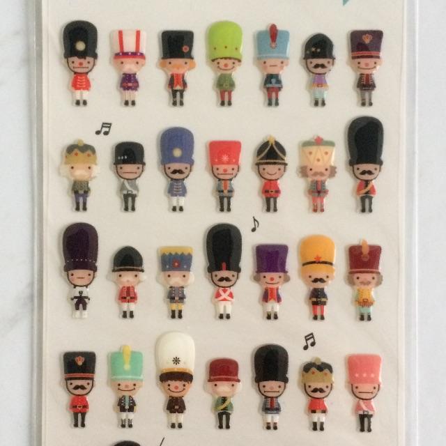 Sticker London Soldier