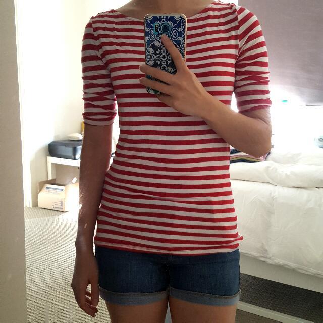 Striped T