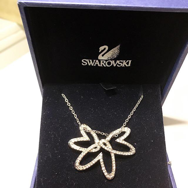 Swarovski施華洛世奇二手三個愛心項鍊