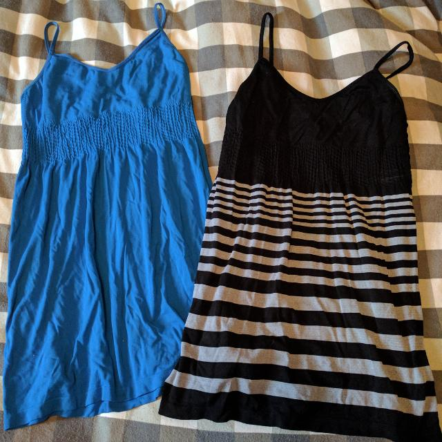 Two Size Medium Flowy Tanks