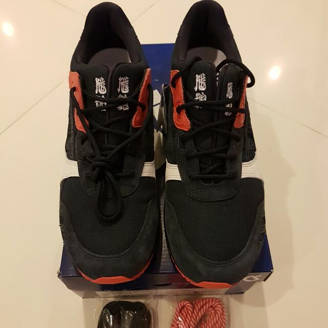 low priced 230e9 7122b US 10 Asics Gel Lyte III x Kicks Lab