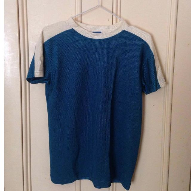 Vintage Electric Blue Techno Tee