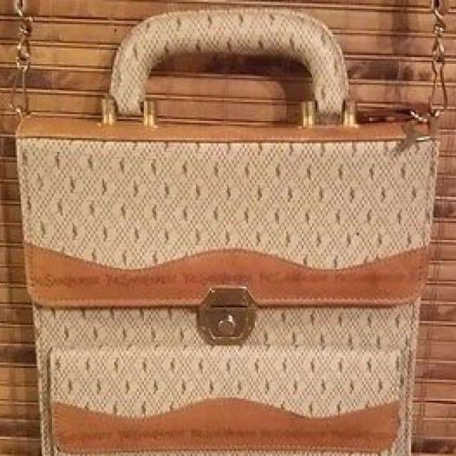 YSL Vintage Secretary Bag