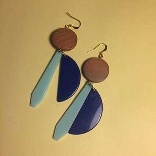 [NEW] Anting Handmade-Blue