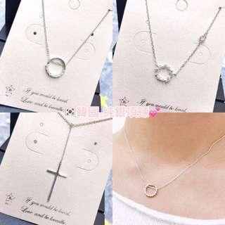 韓國純銀項鍊