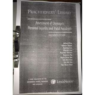 Practitioners' Library Assessment of Damages: Personal Injuries and Fatal Accidents, 2nd Edition