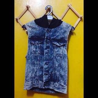 H&M Sleeveless Denim Jacket (was RM45)