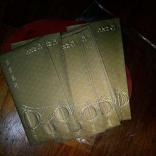 CLEARANCE SALE (BUY 1 SET FREE 1 SET OF YOUR CHOICE) Red Packets / Ang Paos / Hong Paos / 红包