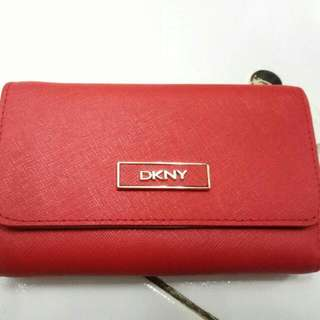 DKNY Wallet Red