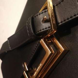 Saint Laurent Cross Body Leather Purse