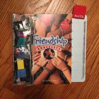 Friendship Bracelet Book And String!!