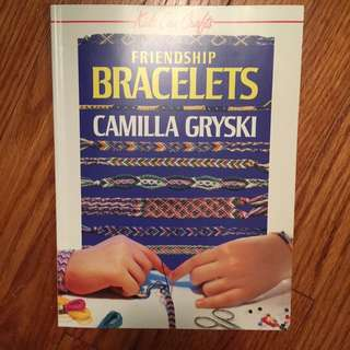 English And French Friendship bracelet Making Book!