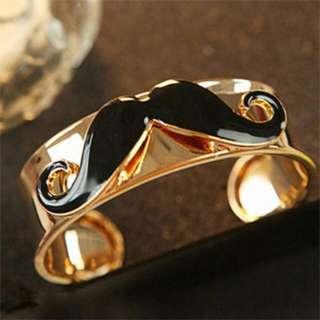 Mustache Bracelet