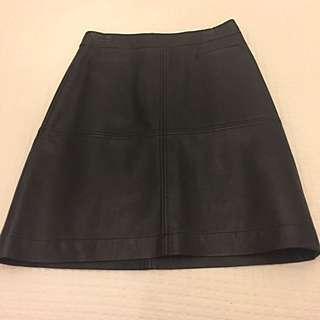 Leather Pencil Skirt Size 8