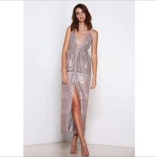 Premonition Elena Maxi Dress Size 10 (medium)