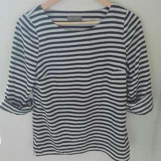 Jacqui E Striped Shirt