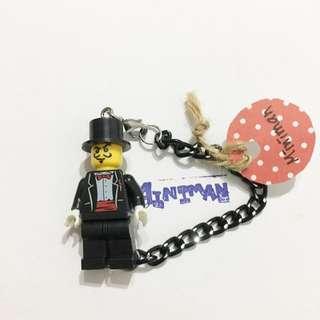 Miniman手作飾品 魔術師積木人偶手鍊 樂高相容