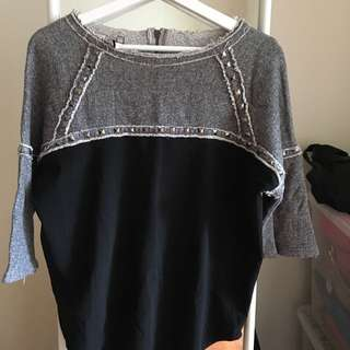 Black Top Size6