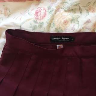 American Apparel Skirt Size Small