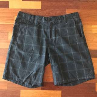 Rusty Checkered Shorts