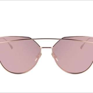 Women Pink Mirror Aviator